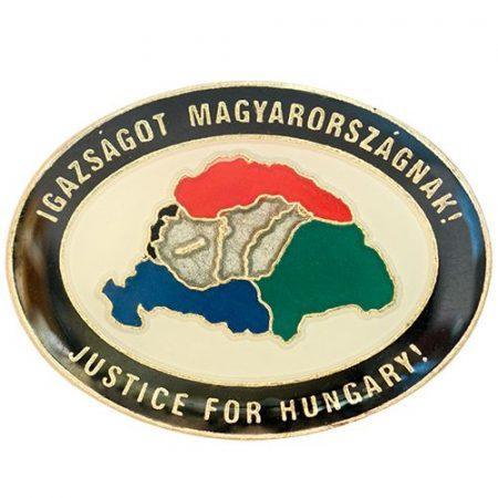 Igazságot Magyarországnak Fedő fekete