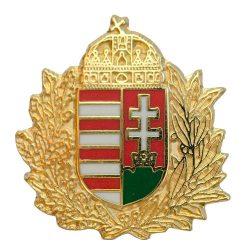 Lombos Magyar Címer Új-generációs Zománc 18 mm-es
