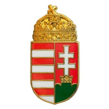 Magyar koronás címer 23 mm újgenerációs