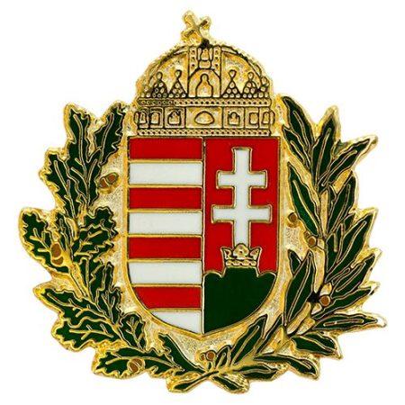Lombos Magyar Címer Új-generációs Zománc 30 mm-es