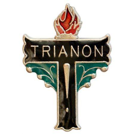 Trianon Kereszt Nikkelezett Festett