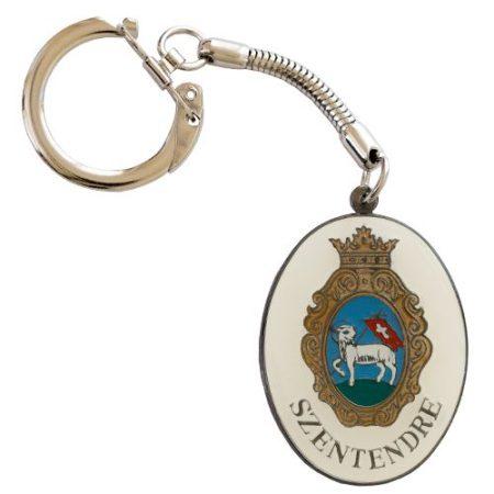 Szentendre címeres kulcstartó