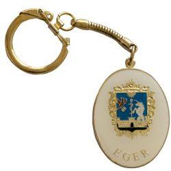Eger címeres kulcstartó