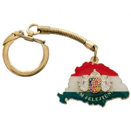 Nem Felejtünk kulcstartó fedő P-F-Z angyalos címerrel