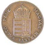Egy krajczáros érme 1848-ból