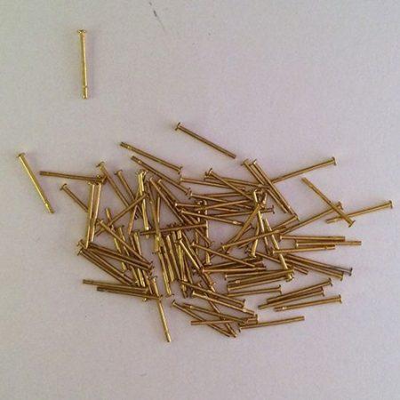 Tű 15 mm-es talp nélküli (200 db / csomag)