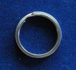 D=30 mm kulcskarika vastag nikkelezett
